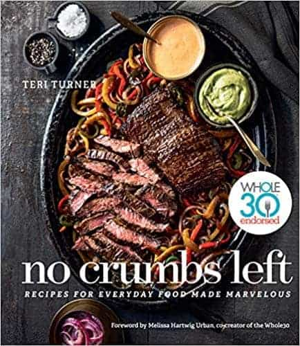 no crumbs left cookbook