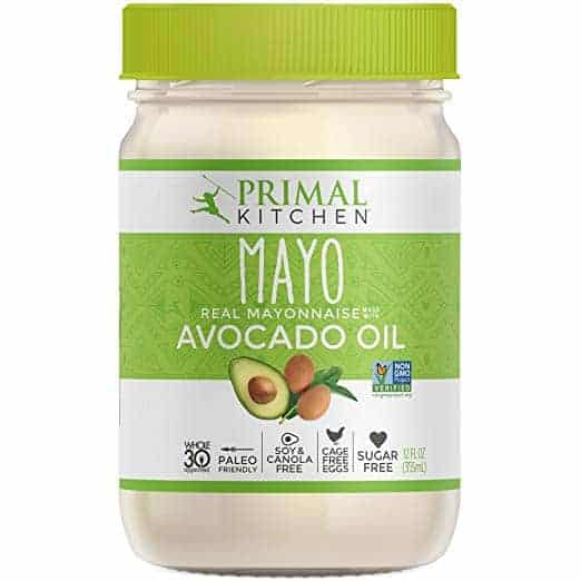 jar of avocado mayo