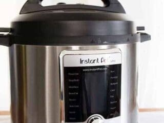 side view of an Instant Pot