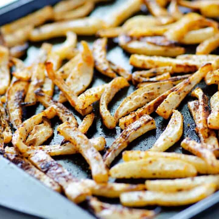 Quick + Easy Low Carb Turnip Fries