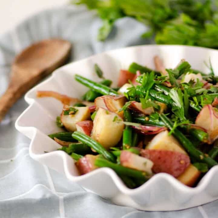 Green Bean and Red Potato Salad with Fresh Herbs