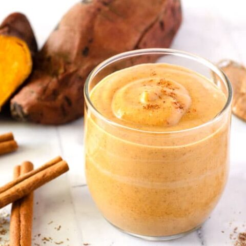 Spiced Sweet Potato Smoothie
